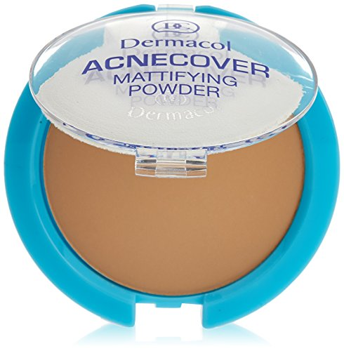 Dermacol Acnecover Mattifying Powder Honey 11g -