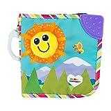 TOMY Lamaze - Livre Bébé - Mes Amis, Livre Tissu Bébé à Clip pour Berceau ou Poussette L27186, Jouet d'Éveil Multicolore, Livre à Toucher, Convient aux Bébés de 1mois+
