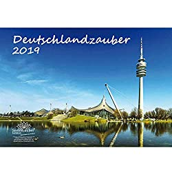 Deutschlandzauber · DIN A3 · Premium Kalender 2019 · Deutschland · Stadt · Sehenswürdigkeiten · Edition Seelenzauber