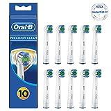 Oral-B Precision Clean Aufsteckbürsten, mit Bakterienschutz, Verhindert bakterielles Wachstum auf den Borsten, 8+2 Stück