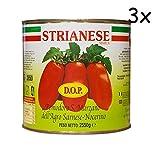 3x 3x San Marzano D.O.P. Pomodori Pelati geschälte Tomaten sauce Italien dose 2,5kg