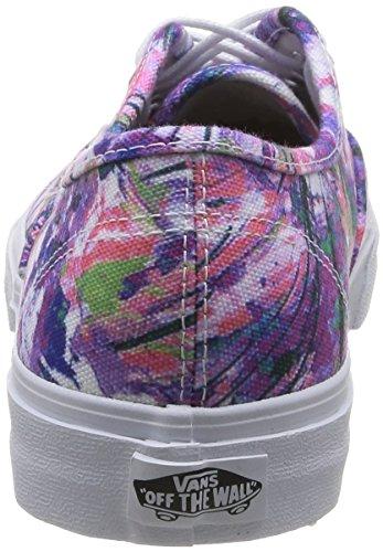 Vans U Authentic Slim Vxg6Fq5, Baskets mode mixte adulte Multicolore (Purple)