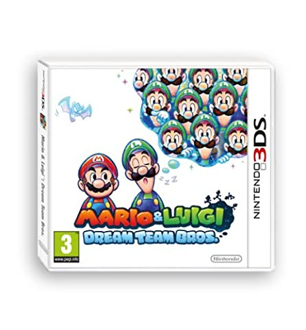 Mario Et Luigi Dream Team Bros 3ds - MARIO & LUIGI:DREAM TEAM BROS. [import