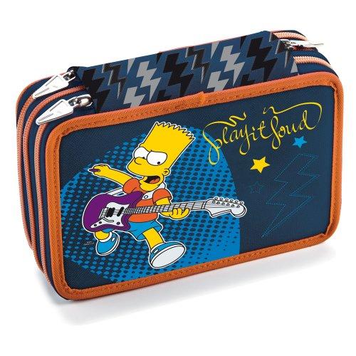 Simpsons - astuccio tre cerniere the simpsons simpsonic