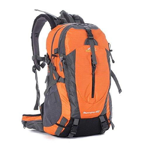 Impermeabile Spalla Borsa All'aperto Sport Alpinismo Zaino,Orange-OneSize Orange