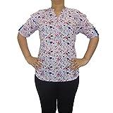 UrbanRepublic Women's Cotton V-Neck Top_...