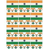 SpringPear 12x Temporär Tattoo von Nationalflagge für Internationale Wettbewerbe Olympischen Spiele Weltmeisterschaft Wasserfeste Fahnen Tätowierung Flaggenaufkleber Fan Set (12 Pcs)