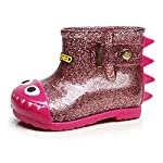 Minshao Waterproof Child Shark Rubber Infant Baby Rain Boots Kids Children Rain Shoes For 0~6.5Years old