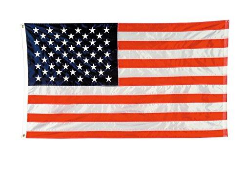 Nylon Flag (Baumgartens BAUTB3500 Nylon American Flag-Beihefter 3ft.x5ft.)