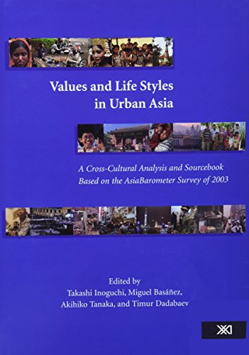 Descargar Libro Values and Life Styles in Urban Asia: A Cross-cultural Analysis and Sourcebook Based on the Asiabarometer Survey of 2003 (Institute of Oriental Culture Special Series) de Takashi Inoguchi