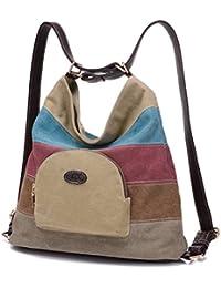 03d582e449a Bolsa de lona de las mujeres   bolsos de hombro   Mochila