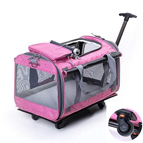 3be5ad902 GHH Bolsa De Viaje para Mascotas Pet Carrier Portable Large Dog Stroller  Pet Travel Cochecito,