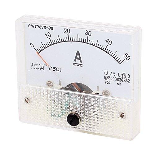 85c1 DC 1-50A Class 2.5 Precision Panel Mount Analoge Ampèremeter Meter