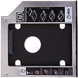 Amazingdeal365 9.5mm Universal SATA 2 º HDD SSD disco duro Caddy forCD / DVD-ROM Optical Bay