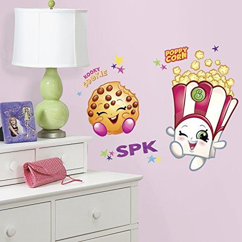 RoomMates rmk3300gm Poppy Mais und Kooky Cookie Shopkins schälen und Stick Giant Wall Decals - Cookie-sticks