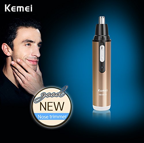 Kemei Km 6619 2 in 1 Electric Shaver with Nose & Ear Hair Trimmer