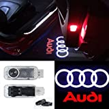 #6: CNAutoLicht 2X Cree LED Door Step Courtesy Light Welcome Light Laser Shadow Logo Projector Lamp For Audi A1 A2 A3 A4 A5 A6 A7 A8 Q2 Q3 Q6 Q5 Q7 R8 TT RS4 RS5 RS6 RS7 S3 S4 S5 S6 S7 S8 #1