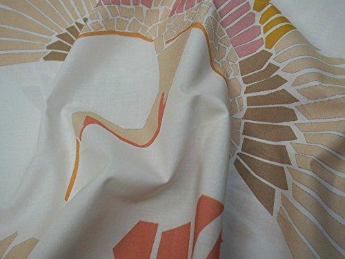 Lady McElroy Marabou Mosaik Baumwolle Linon Kleid Stoff pastell–Meterware (Lady Mosaik)