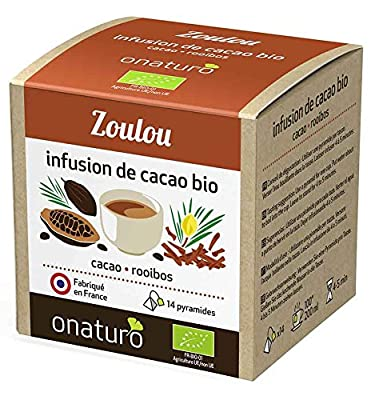 Infusion 100% cacao & Rooibos, Zoulou BIO