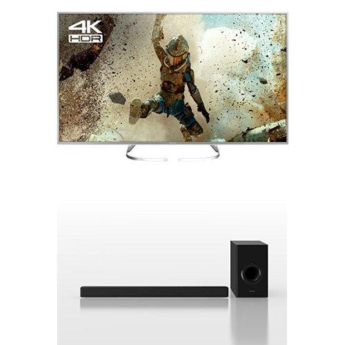 Panasonic TX-58EX700B 58-Inch 4K Ultra HD Smart LED TV with SC-HTB488EBK 200 W Soundbar with Wireless Sub Woofer Bundle