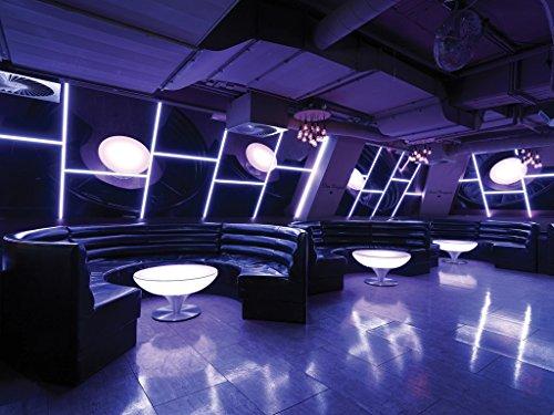 Bartisch Lounge Indoor Größe: 45 cm H x 84 cm Ø, Eigenschaften: Mit Akku
