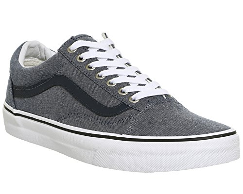 Vans Herren Old Skool Plateau C And L Chambray Blue