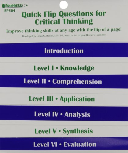 Quick Flip Questions for Critical Thinking (Edupress)