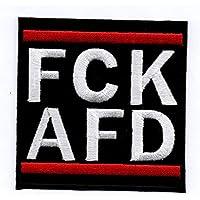 FCK AFD - Aufnäher Bügelbild Iron on Patch