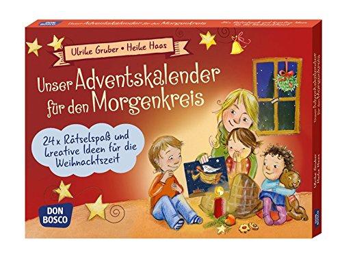 r für den Morgenkreis: 24 x Rätselspaß und kreative Ideen für die Weihnachtszeit (Spielen - Lernen Freude haben. 30 tolle Ideen für Kindergruppenauf DIN A5-Karten) (Unterricht Weihnachten Spiele)