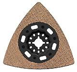 Bosch 2608662908 Carbit-Riff Schleifplatte AVZ 90 RT10, 1 W, 1 V