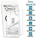 Sony Xperia Z5 - Véritable vitre en verre trempé ultra résistante - Protection écran - AVEC BOITE