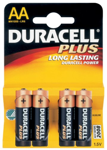 Preisvergleich Produktbild Duracell MN1500PF AA LR6Alkaline Batterien (4Stück)