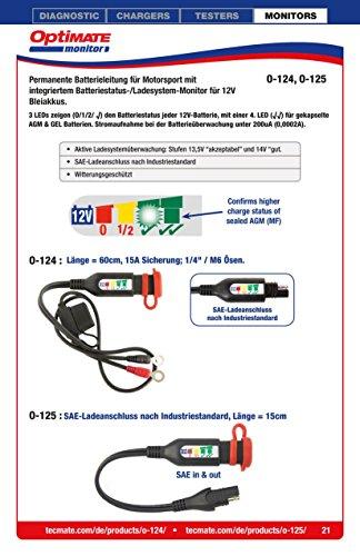 TecMate-OptiMATE-MONITOR-O-124-Connettore-permanente-della-batteria-rivolto-al-settore-degli-sport-motoristici-con-monitoraggio-integrato-dello-stato-della-batteria-e-del-sistema-di-carica-per-batteri