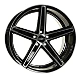 OXIGIN 18 Concave black full polish 8,5x19 ET23 5.00x112.00 Hub Bore 66.60 mm - Alu felgen