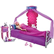 Letto Di Barbie Matrimoniale.Amazon It Letto Di Barbie