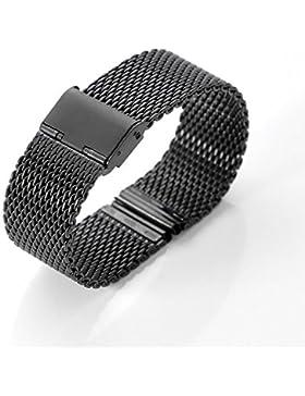 Uhrenarmband, XINGDONGCHI 22mm rostfrei Stehlen Gurt Metall Band für Motorola Moto 360 Smartwatch und Lg G Watch...