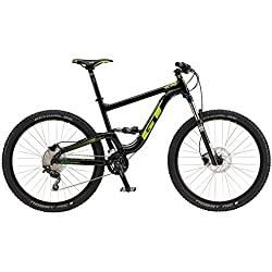 Gt Bicycles 725106M1003 Bicicleta, Unisex Adulto, Black, M