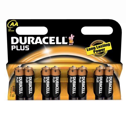 Duracell Plus AA Alkali Batterie (8er Pack) -