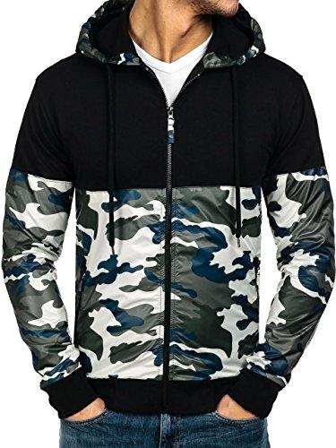 BOLF Herrenpullover Sweatshirt Sweatjacke ATHLETIC 0468 Grün M [1A1]