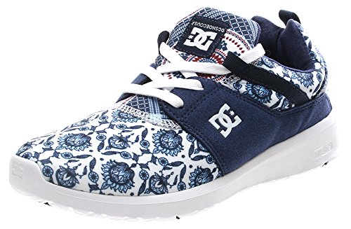 DC Shoes Heathrow Se J, Sneaker Donna Blue