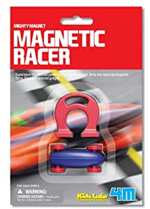 4M Kidz Labs Magnetic Racer