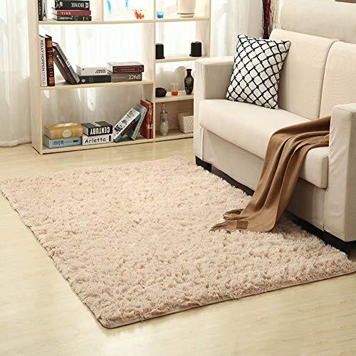 Prokth tappeto del soggiorno, addensare di seta tappeto peluche antiscivolo tappeto assorbente bagno tappetino per la casa 120 x 160 cm