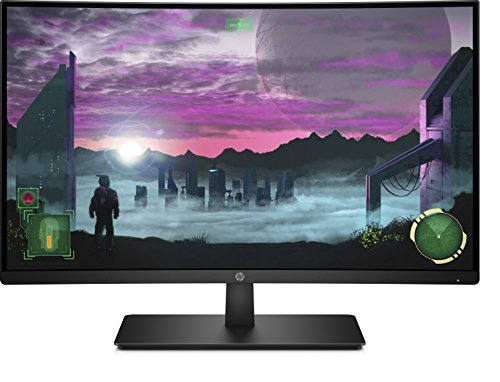HP 27x 1AT01AA 68,58 cm (27 Zoll Full HD) Monitor (HDMI, Displayport, AMD-Freesync, 144Hz) schwarz