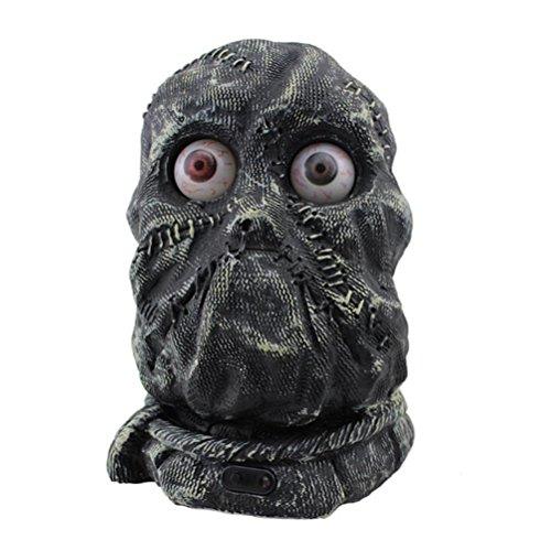 Stein-Geist-Dekoration-Kontrolle gespenstisches unheimliches Modell mit Batterie-Statuette für Halloween-Zeichnungs-Probe y Hauptdekor ()