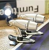 XIAOYANJIA LED Bullet Clip Leselampe Nachttisch Leselicht Nacht Mini Taschenlampe Clip Buch Licht beobachten Novel Light