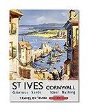 Funky NE Ltd J0486 Poster, Motiv St. Ives Cornwall - Travel