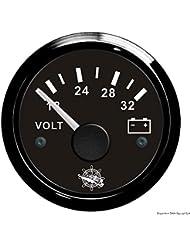 Voltmètre 18/32 V noir/noir