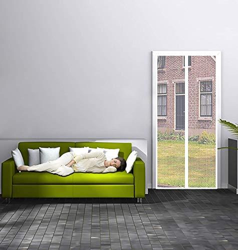 Lichll Moskitonetz für Türen, automatischem Magnetverschluss, Fliegengitter Tür Insektenschutz Magnetvorhang Moskitonetz, für Balkontür,105x200cm(41x79inch)