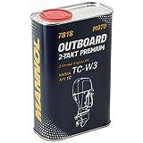 MANNOL 7818 Outboard 2-Takt Premium API TD Motoröl Außenbord Öl 1L MN7818-1