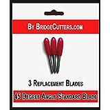Bridge Cutters - Cuchillas de repuesto para troqueladoras Cricut, lote de 3 unidades